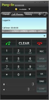 Звонки через веб програмку на комп
